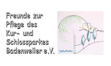Logo Freunde zur Pflege des Kur- und Schlossparks Badenweiler e.V.