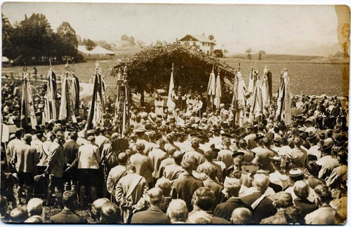 1921 - Fahnenweihe