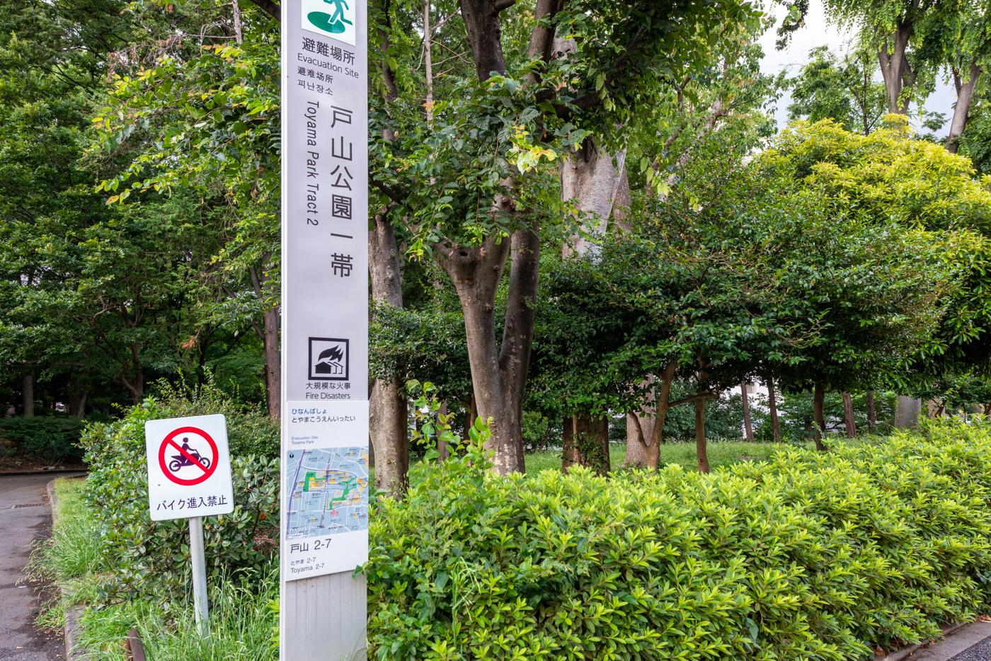 戸山公園(240m)