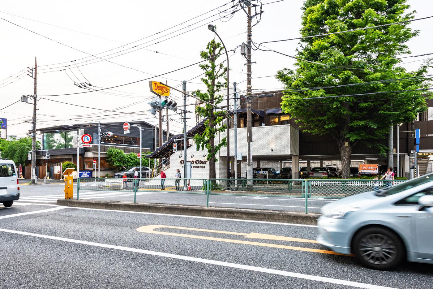 デニーズダイナー八雲店(目黒通り)(200m)