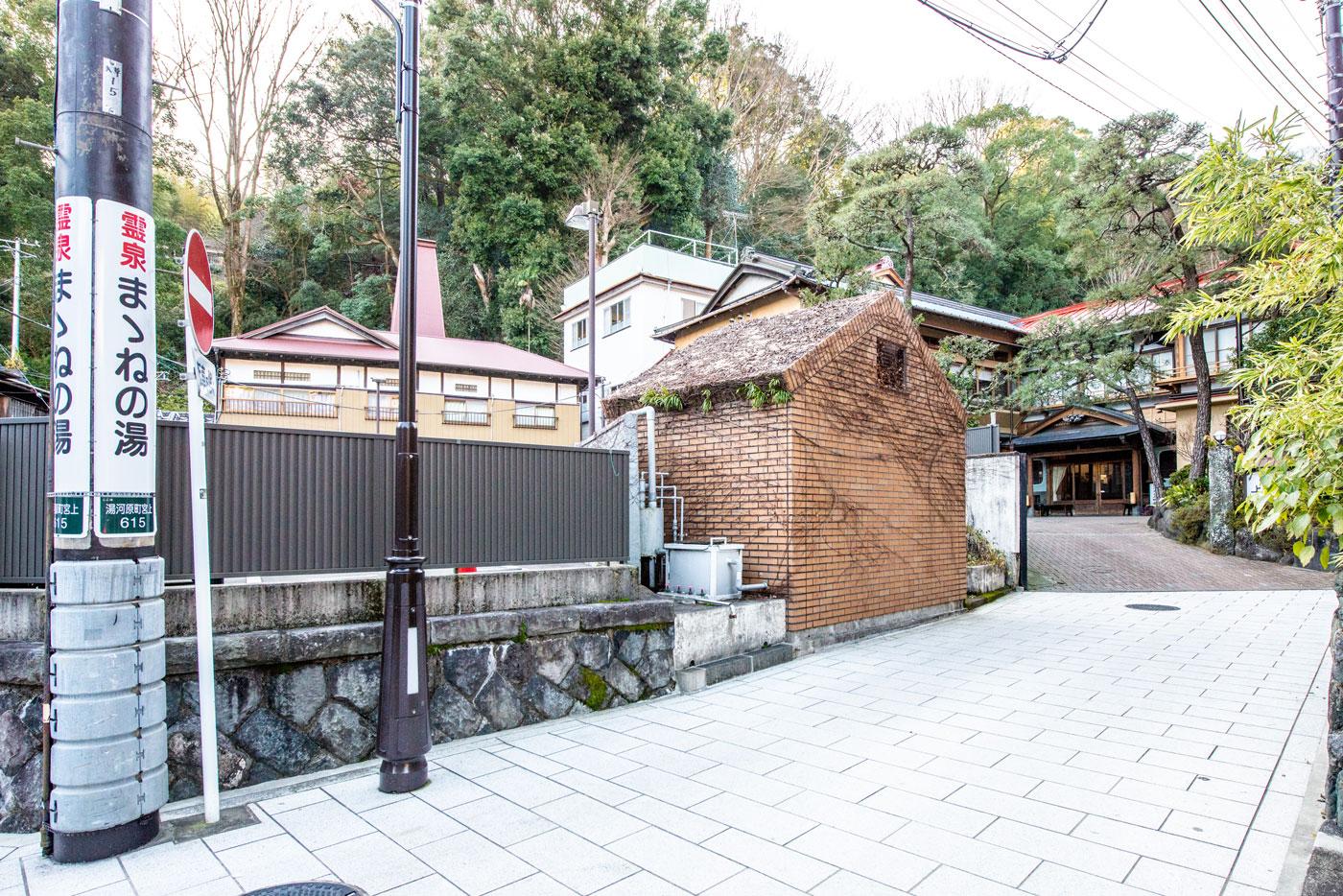 源泉上野屋(創業300余年 湯河原で一番長い歴史を持つ旅館 2,400m)