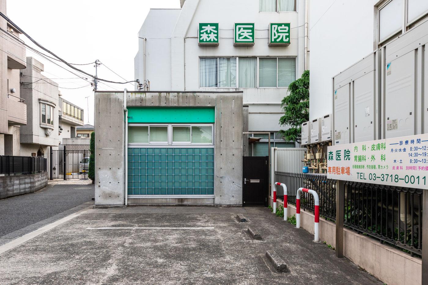 森医院(内・胃・外・皮 など)(180m)