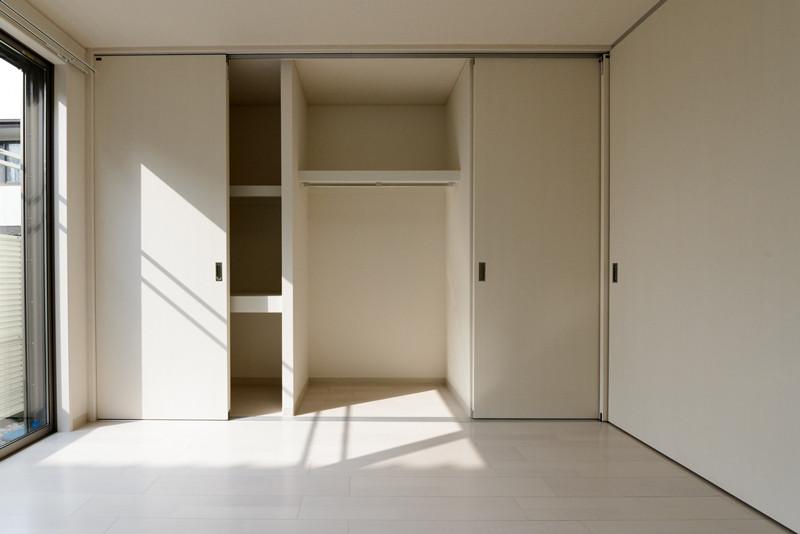 お部屋のバリエーション8(居室部分の収納)