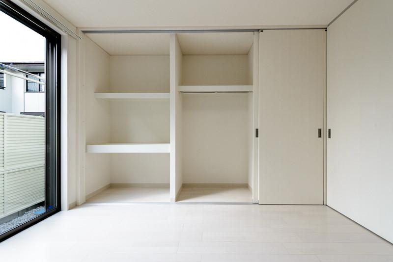 お部屋のバリエーション9(居室部分の収納)