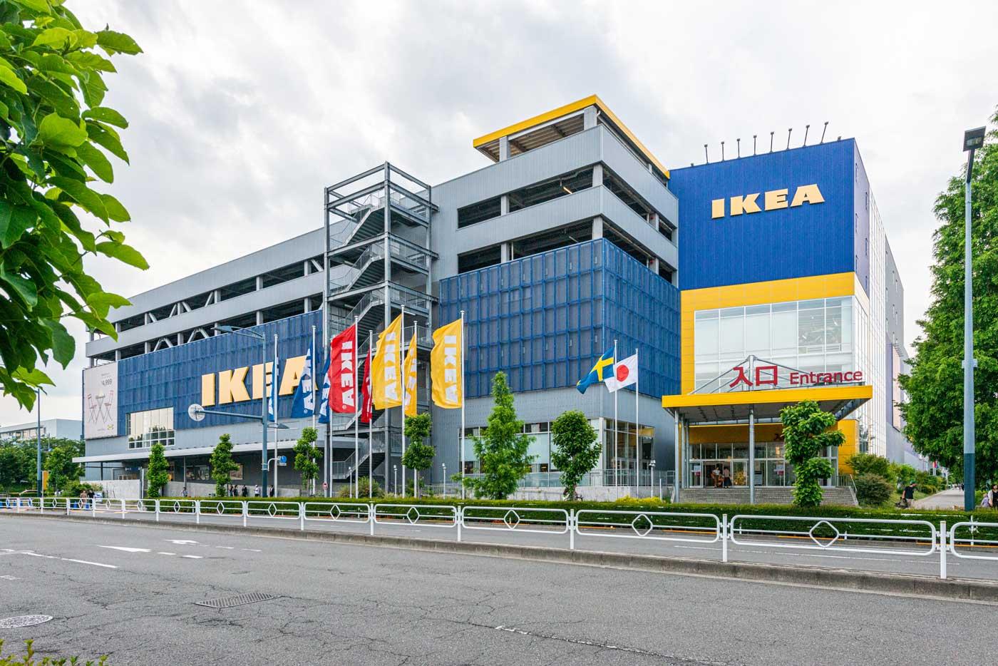IKEA立川(1,700m)