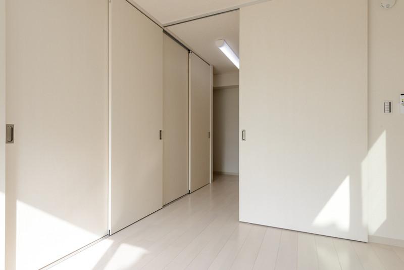 お部屋のバリエーション11(キッチン・居室の扉を閉めた状態)