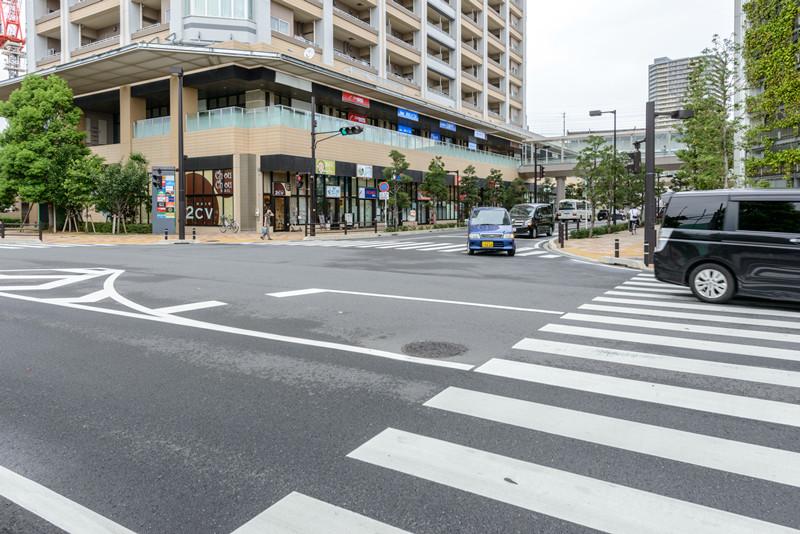 駅周辺1(西口ロータリー付近)