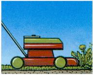 Rasenmäher, verticutieren, aerifizieren, düngen, Amriswil, Gartenbau, Gärtner