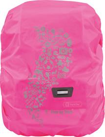 Regenschutz neon pink
