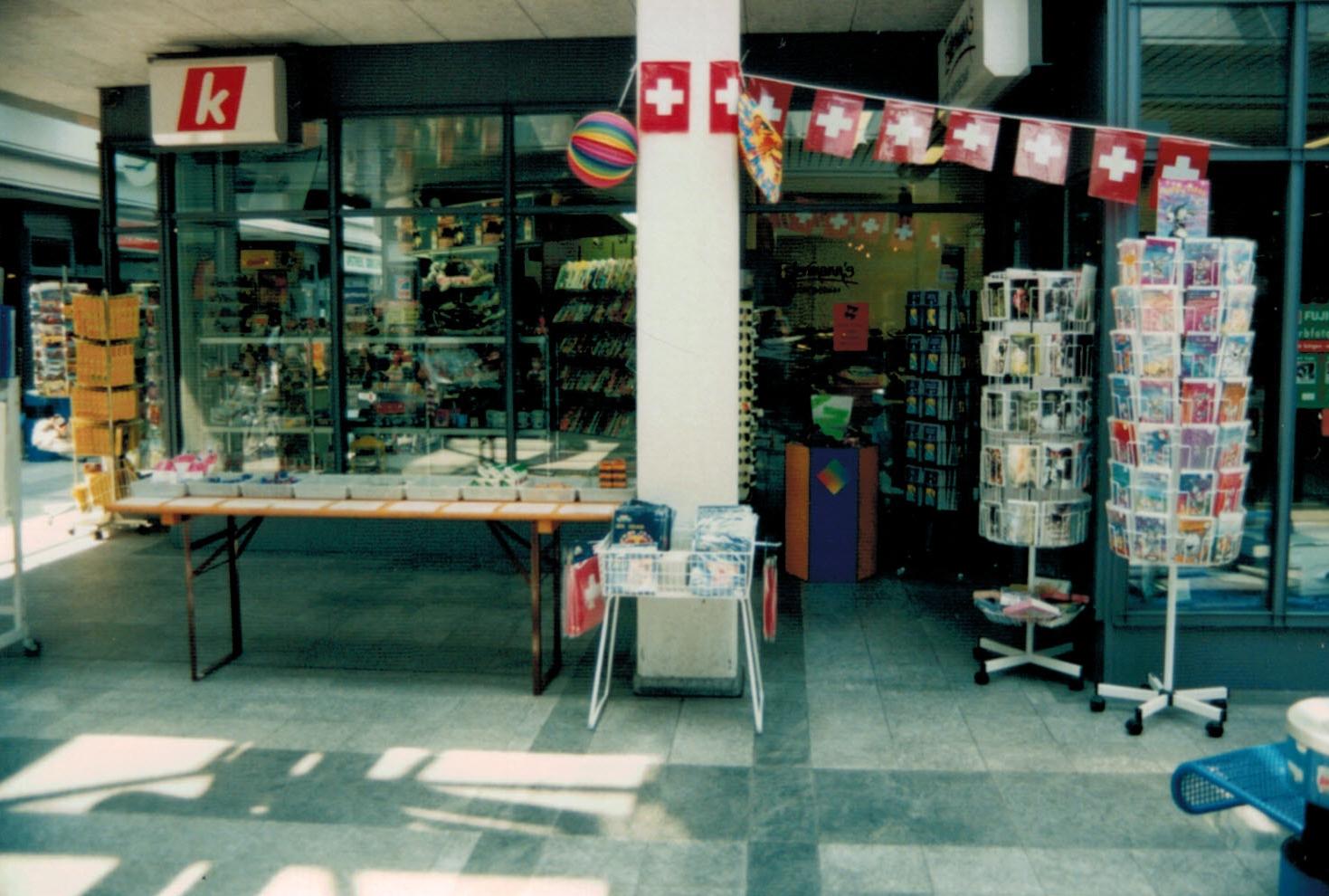 Ansicht Ladeneingang