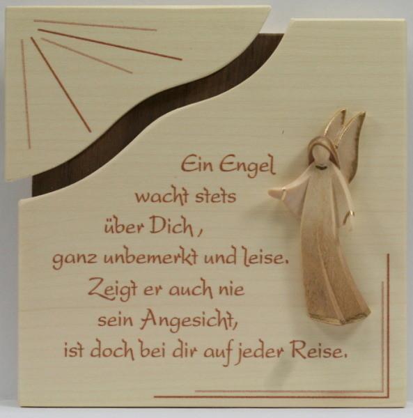 Spruch-Tafeln aus Holz (ca. 15 x 15 cm)