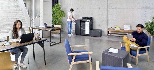 Konica Minolta bizhub C-550i, das ideale Gerät für anspruchsvolle Grossraum-Büros