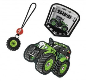 Magic Mags Green Tractor