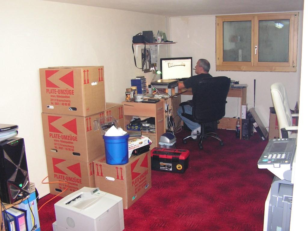 Arbeitszimmer Schreibtisch Peter