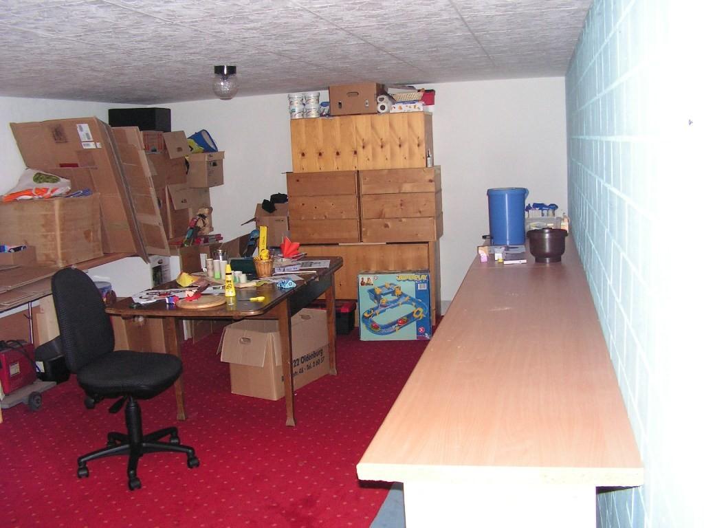 Keller Plätze für den Rest der LAN-Party