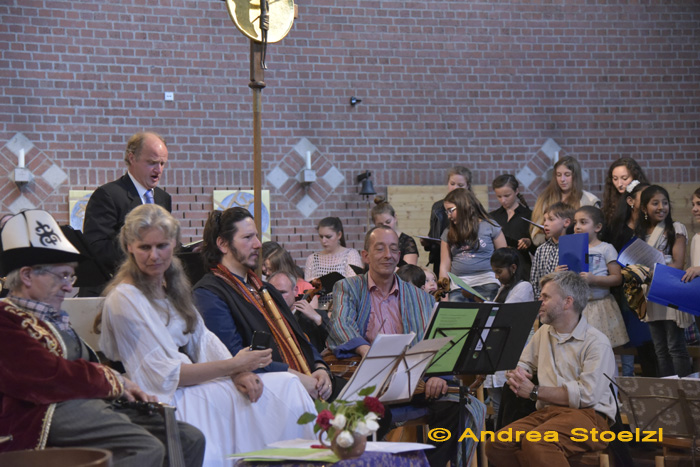 Interkonfessionelles Benefizkonzert für Flüchtlinge Kirche St. Monika