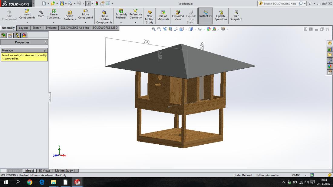 SolidWorks tekening.