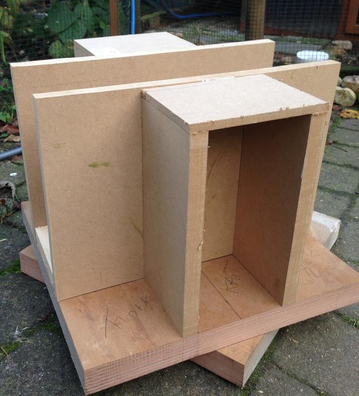 Prototype bouwen - Constructie opbouw.