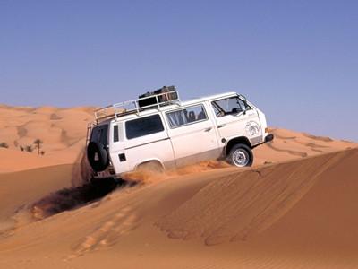 Dünenfahrt in Lybien (nähe Mandara-See)