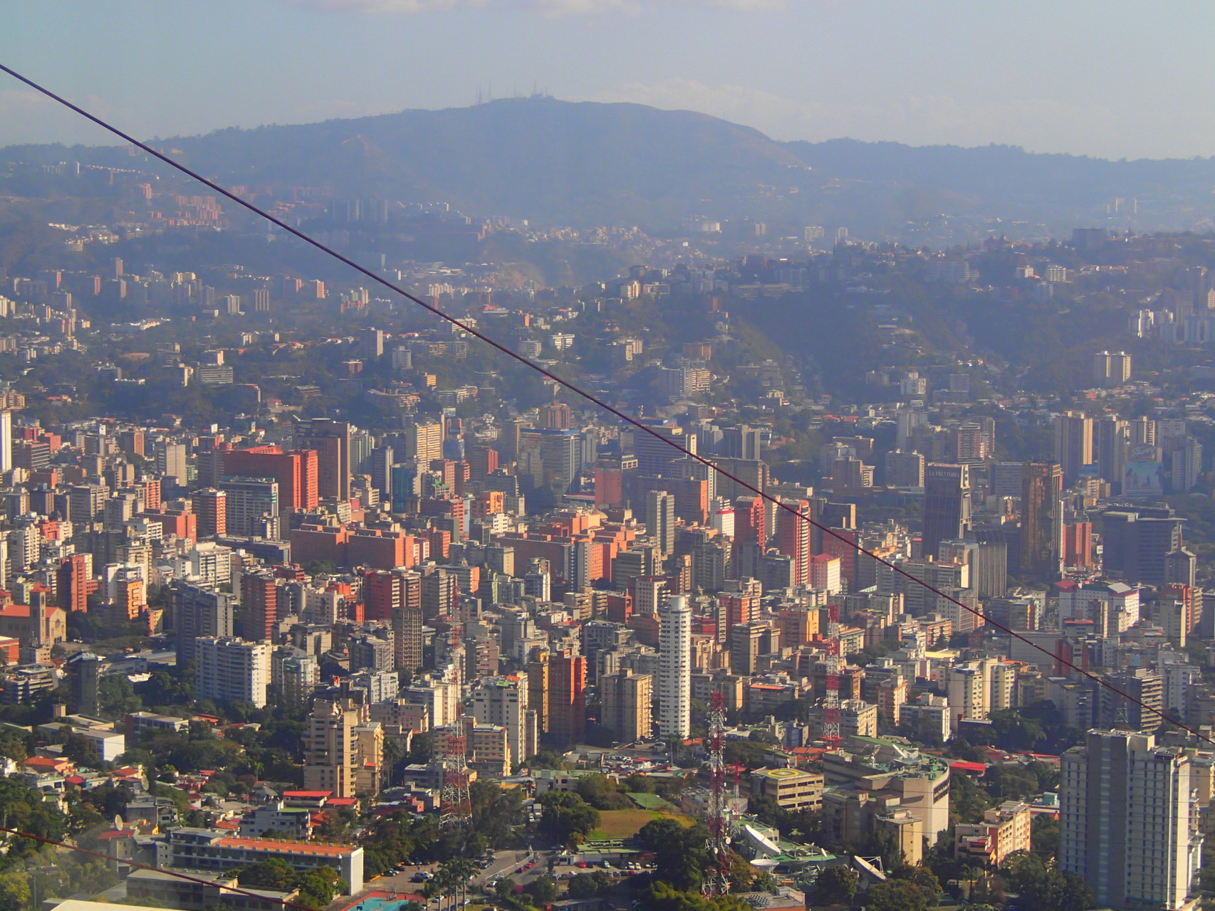 View on Caracas