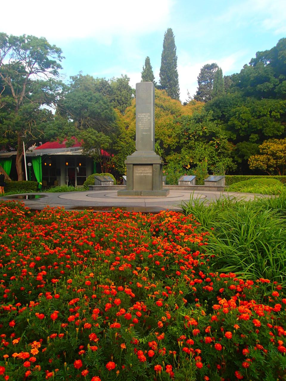 In Yalta findet sich ein Denkmal für die Tataren, die im zweiten Weltkrieg deportiert wurden