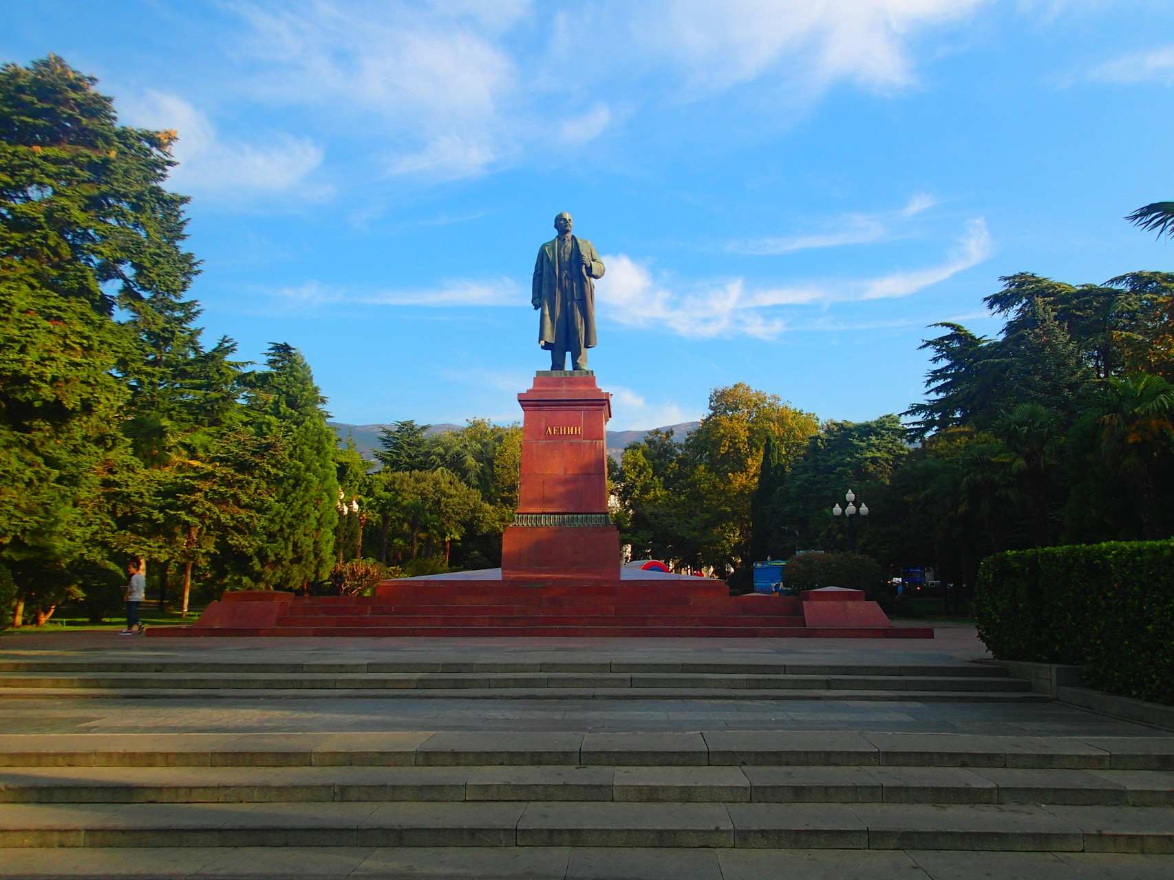 Lenin square in Yalta