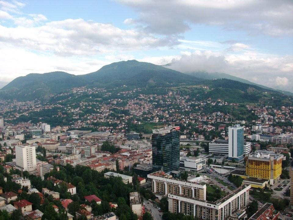 Stadtbild Sarajevo