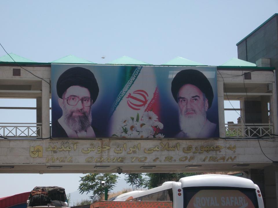Ankunft in Teheran