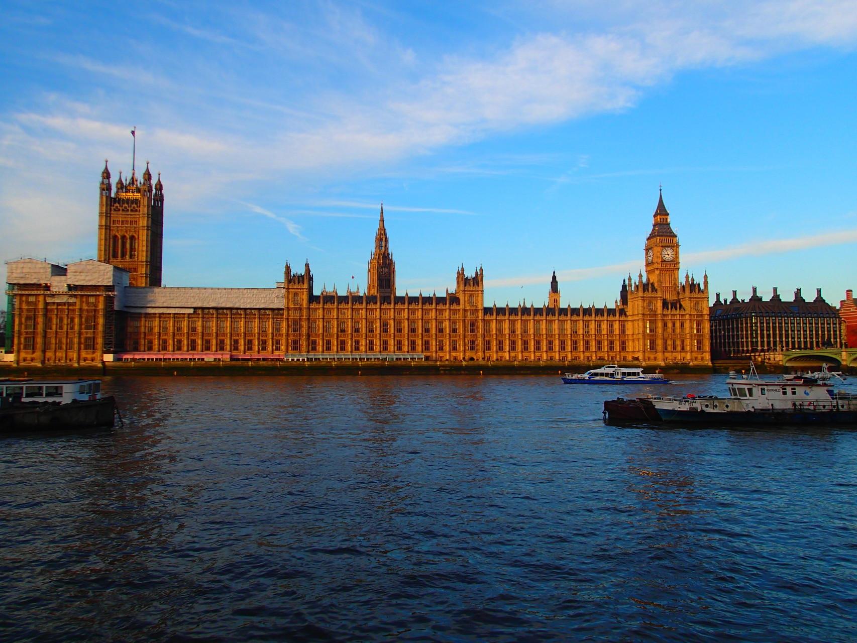 Der Westminster Palast