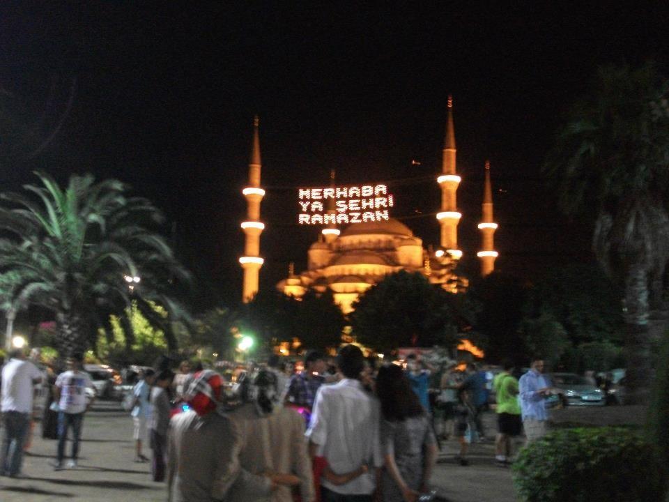 Ramadan Eröffnungsfeier in Istanbul