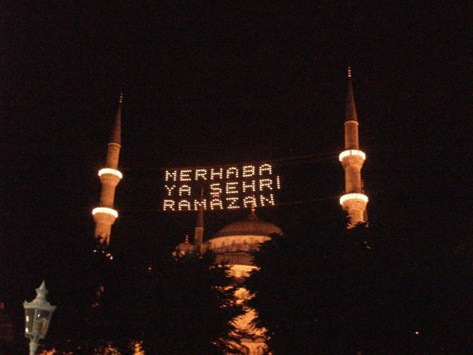 Ramadan begins in Istanbul