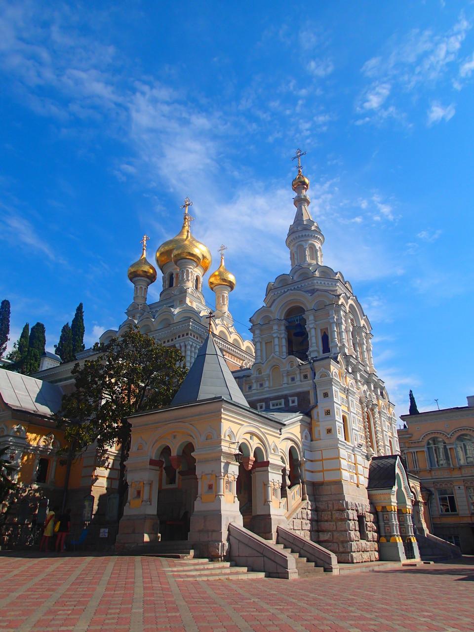 Die St. Newski Kirche in Yalta