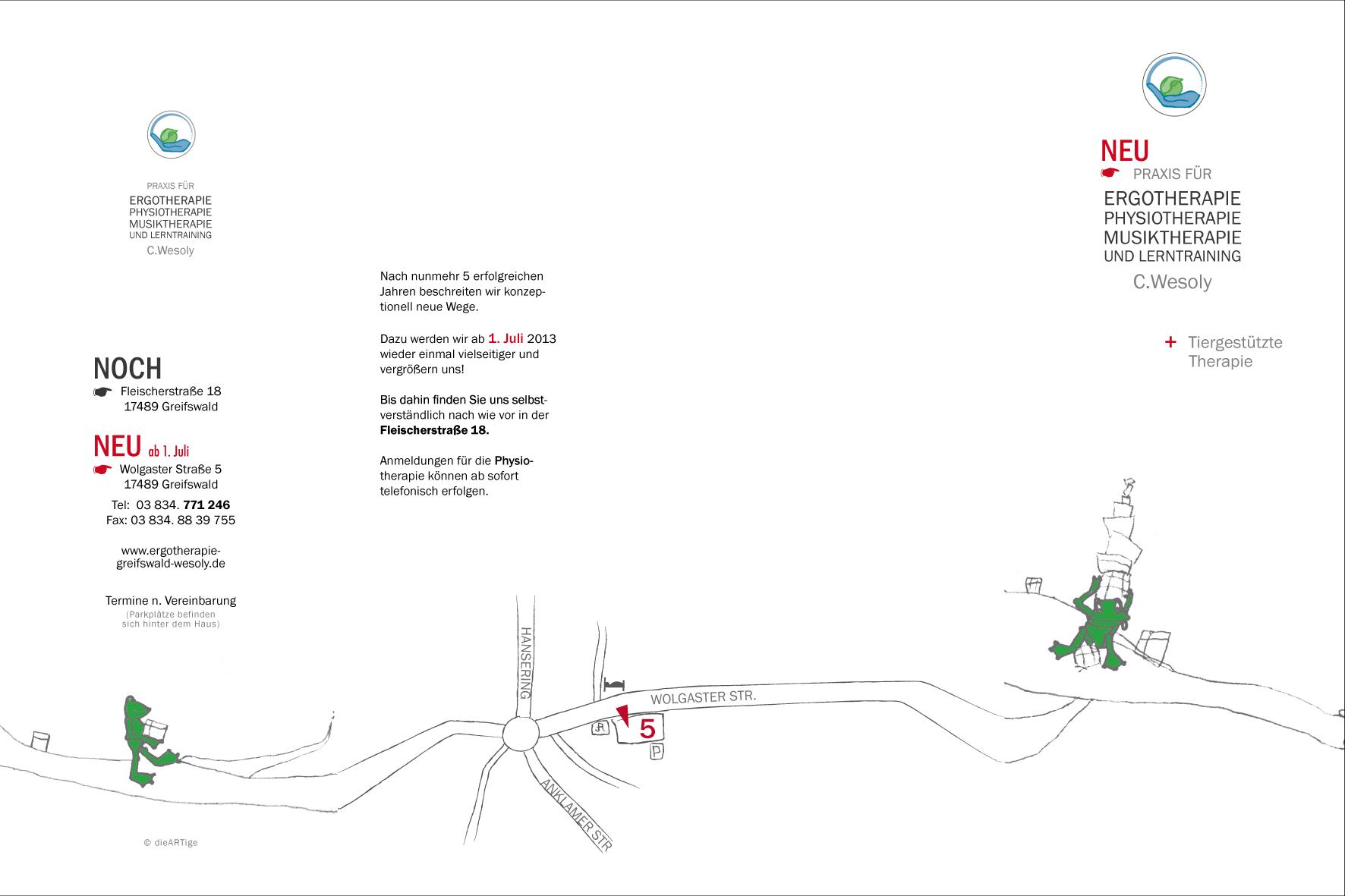 Faltblatt (außen) - A4 | 4fach ZickZackFalz