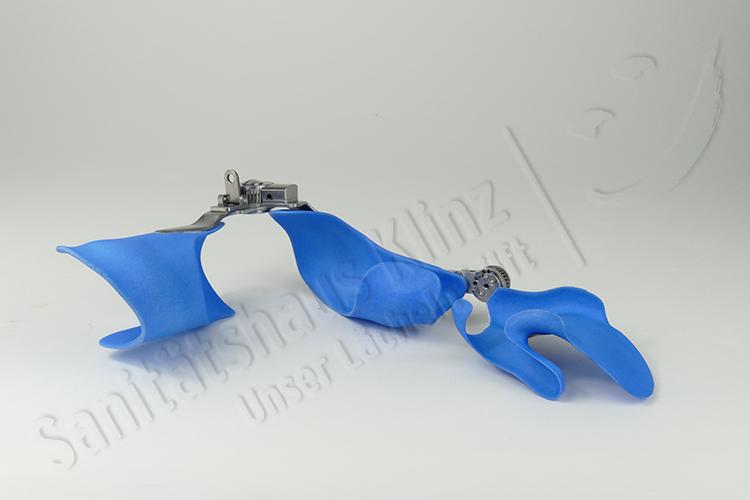 Armorthese Handorthese Ellenbogenorthese Lagerungsorthese Redressionsorthese dynamisch Orthese 3D-Druck atmungsaktiv EWHO Parese Spastik Sanitätshaus Klinz Bernburg