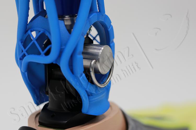 Unterschenkelprothese Beinprothese Prothese Badeprothese Taucher 3D-Druck Kosmetik Amputation Unfall Sanitätshaus Klinz Bernburg
