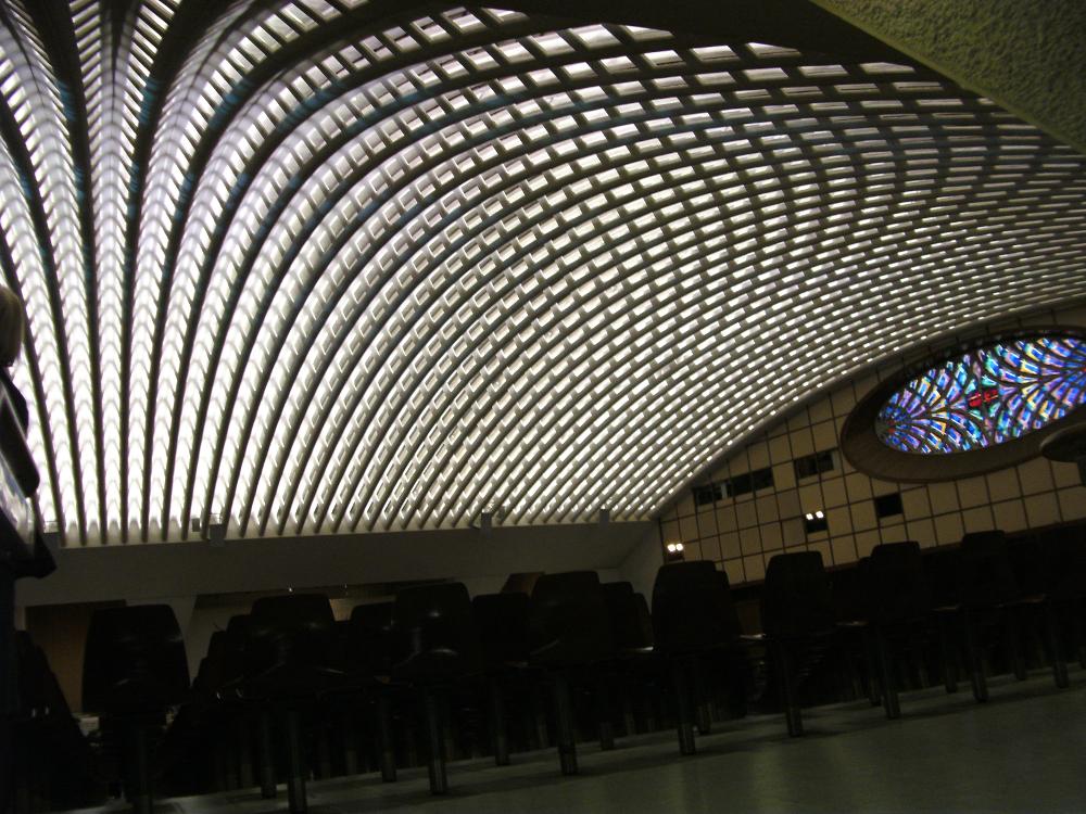 Die Audienzhalle des Papstes