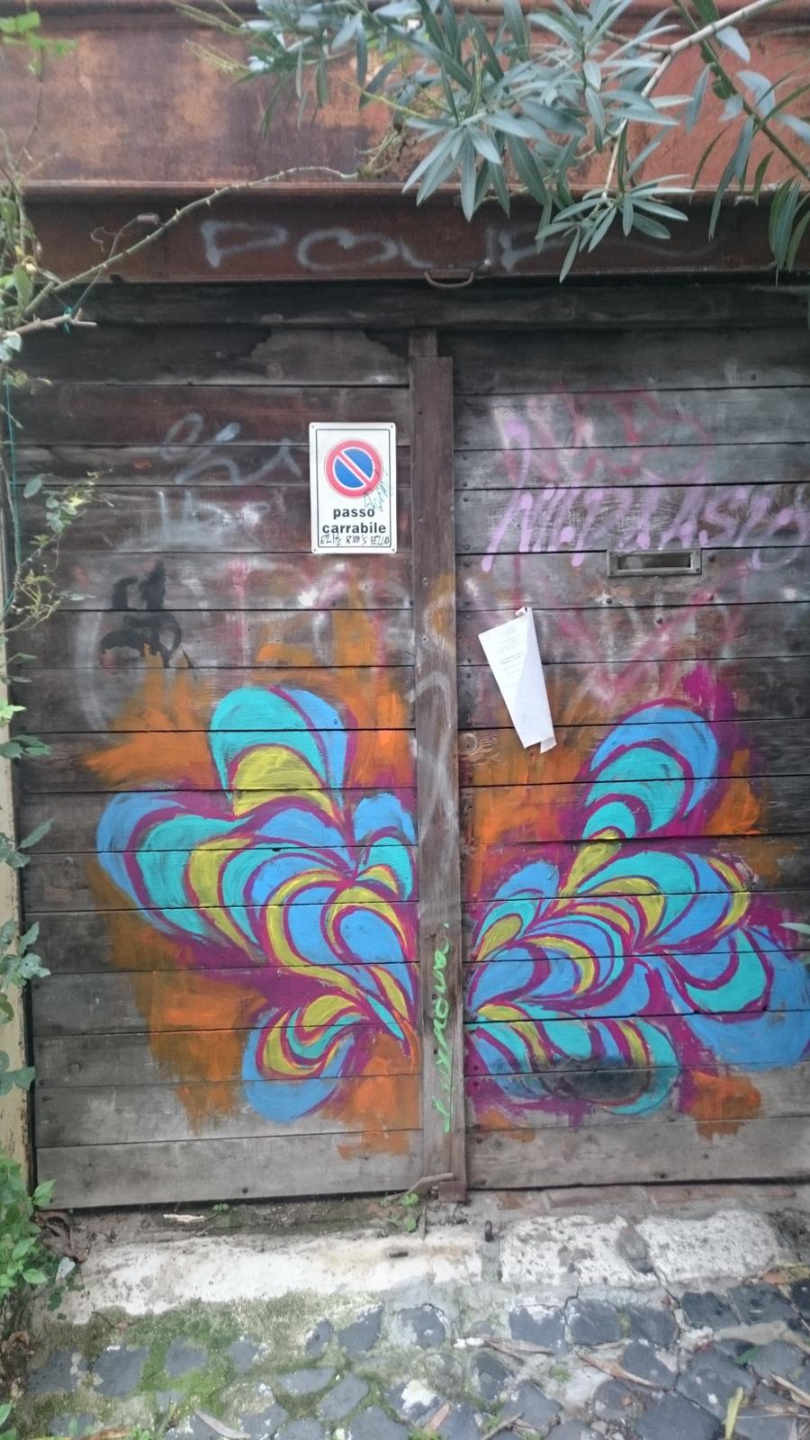 Grafitis sind ein nicht wegzudenkender Bestandteil des öffentlichen Raums in Rom
