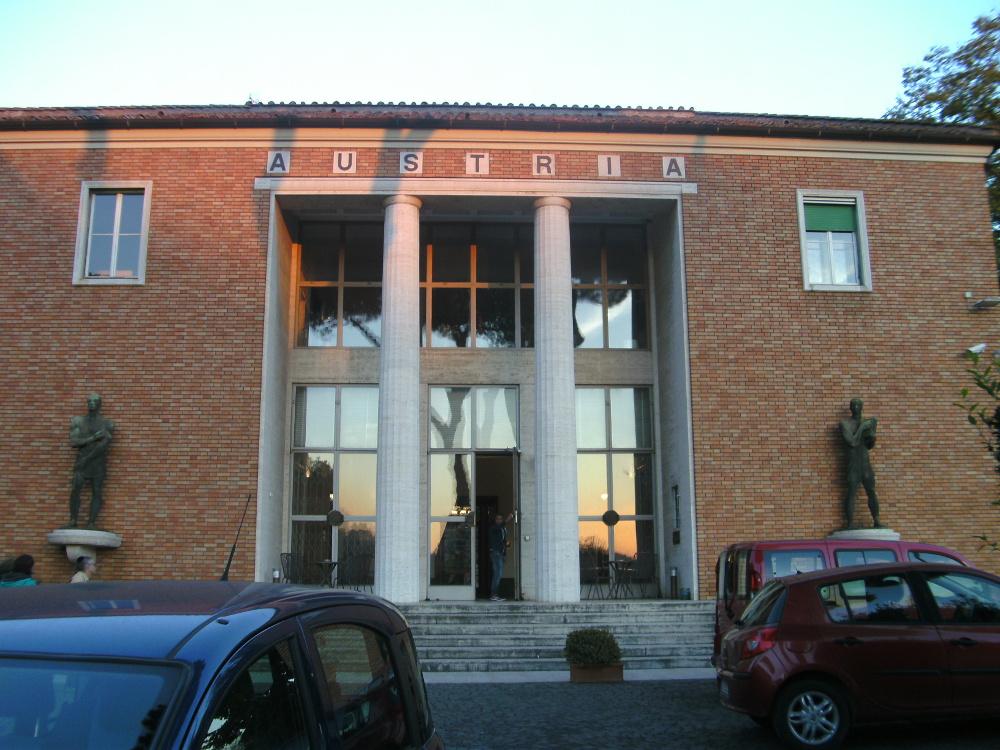 Der Haupteingang des Österreichischen Kulturforums