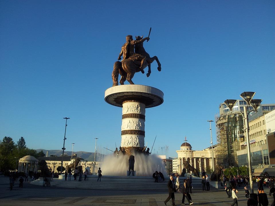 Alexander der Große ist heute noch einer großer Streitpunkt in den Beziehungen zwischen Mazedonien und dem benachbarten Griechenland