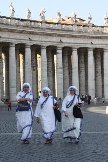 quer durch den Vatikan
