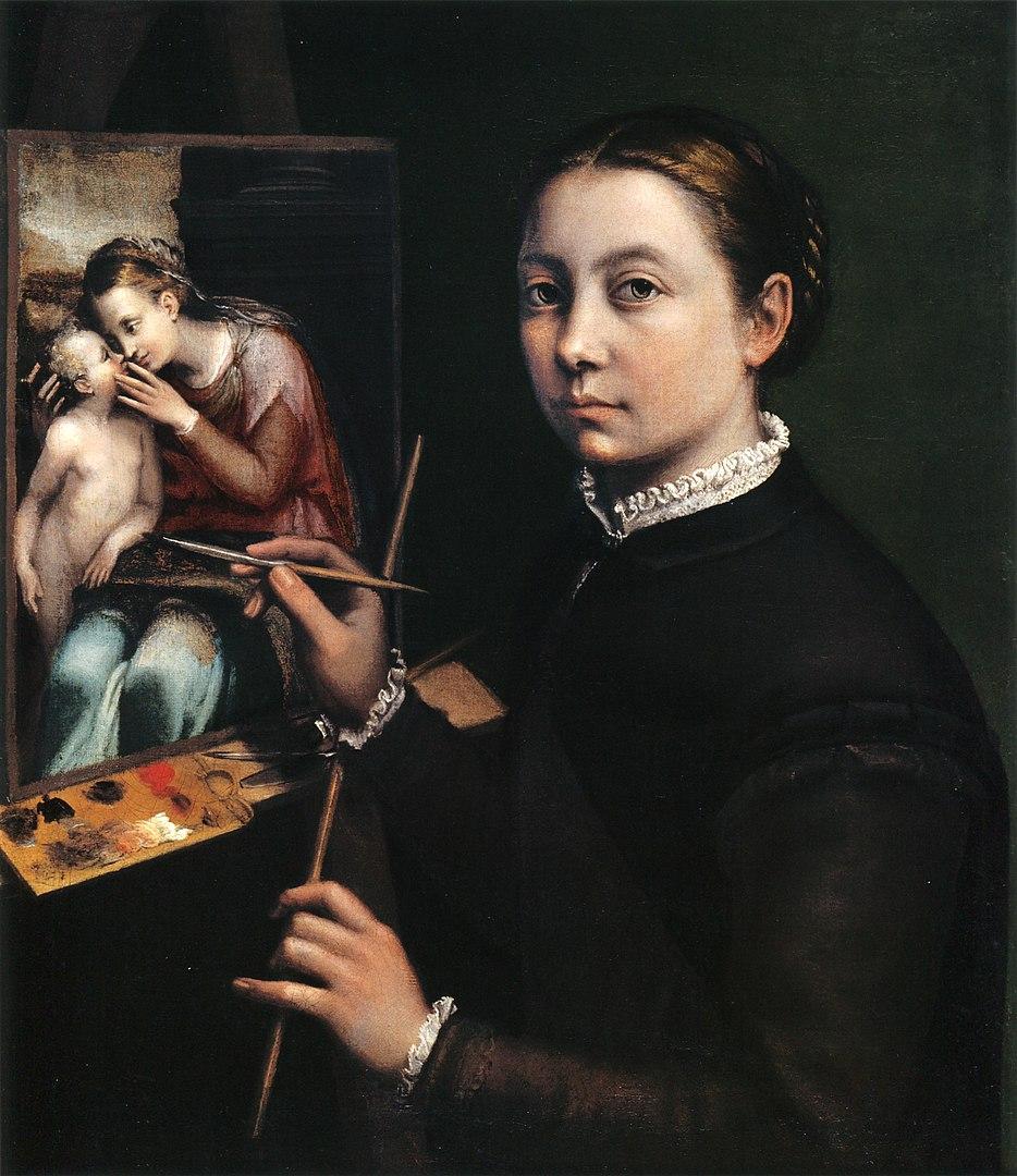 Selbstportrait, 1556, Lancut Museum, Polen