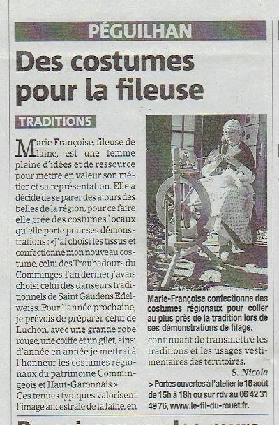 La Gazette du Comminges 29 juillet 2015