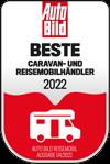 Auto Bild Auszeichnung Beste Caravan- und Reisemobilhändler 2021