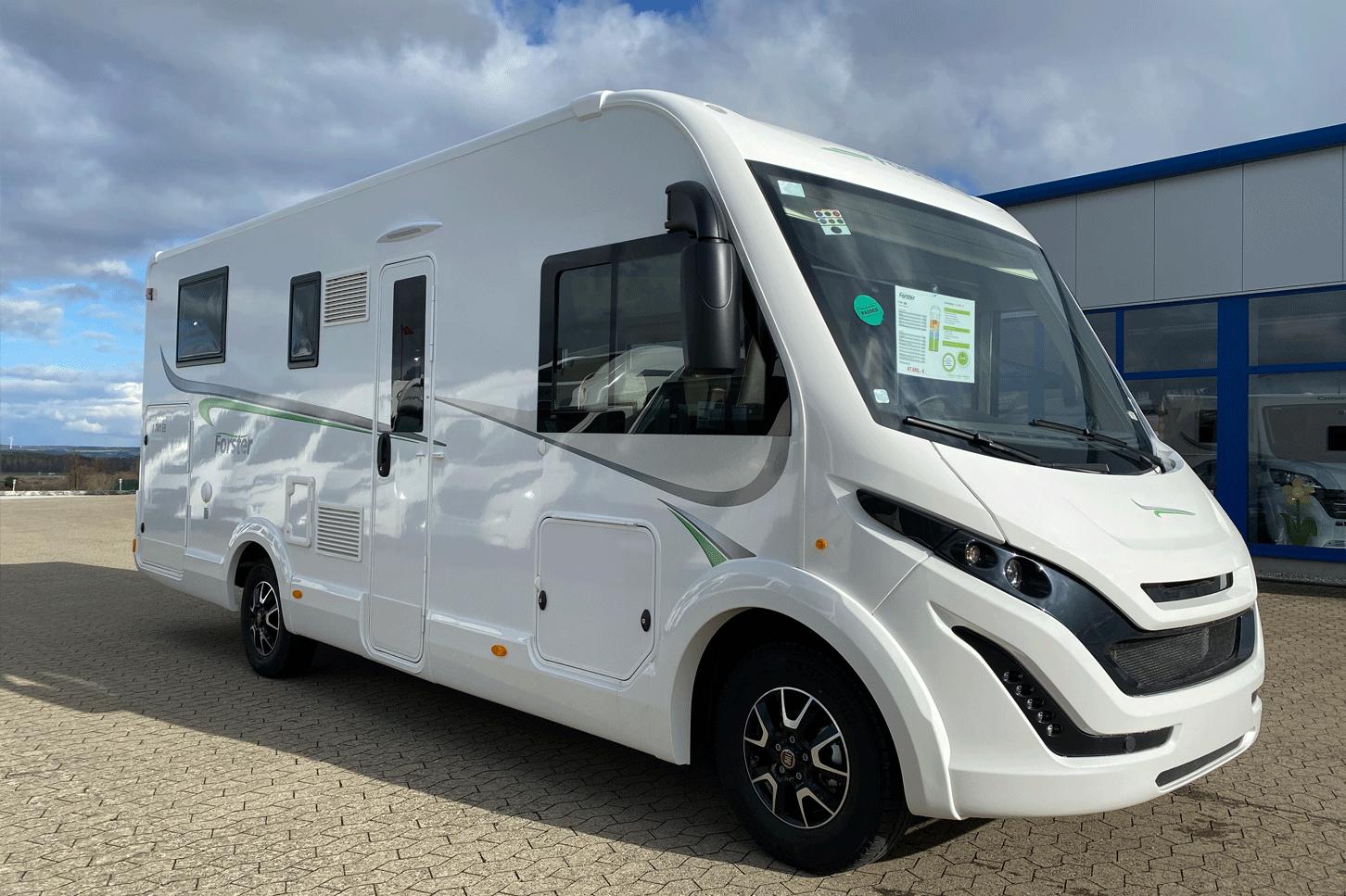 Forster Reisemobile Wohnmobile Aussenfoto