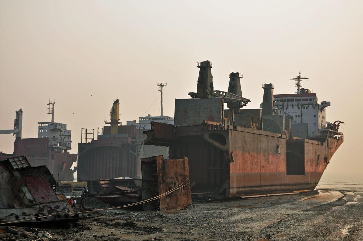 Ship Breaking Yards