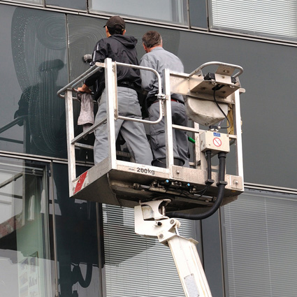 Glas-/Fassadenreinigung