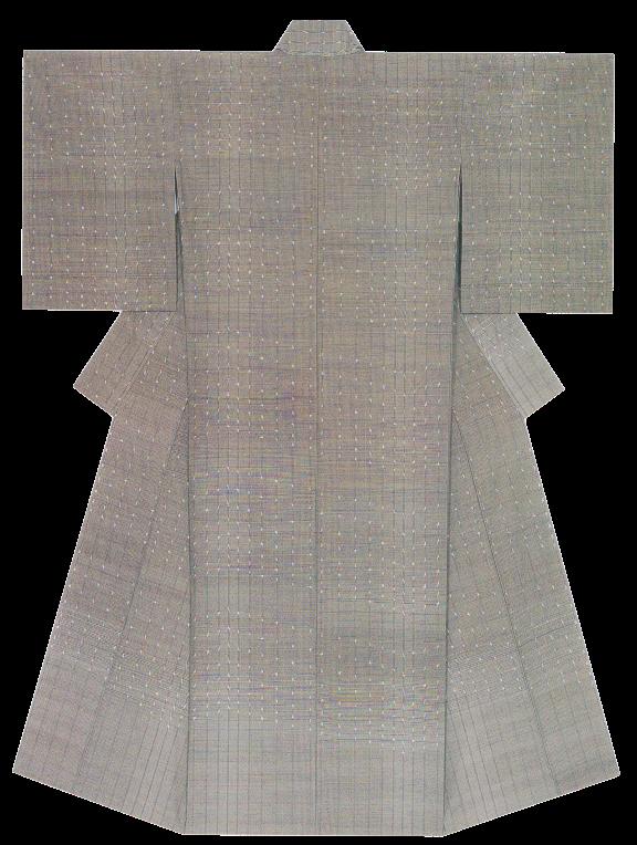 紬織着物「ノクターン」