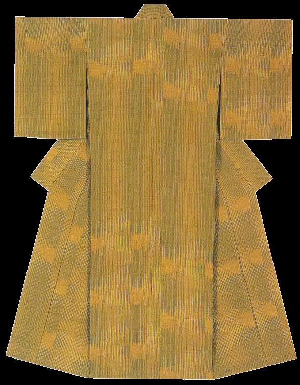 紬織着物 「初秋」
