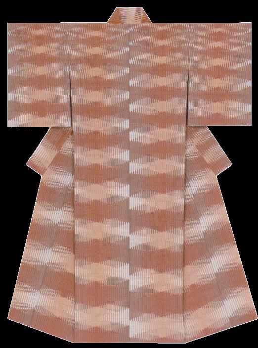 紬織着物「夕凪」
