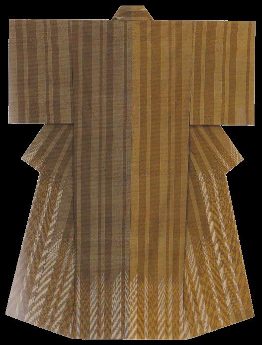紬織着物 「穂叢」